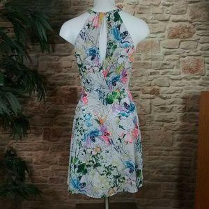 Express Dresses - New w/Tags Express Floral Print Fit & Flare Dress